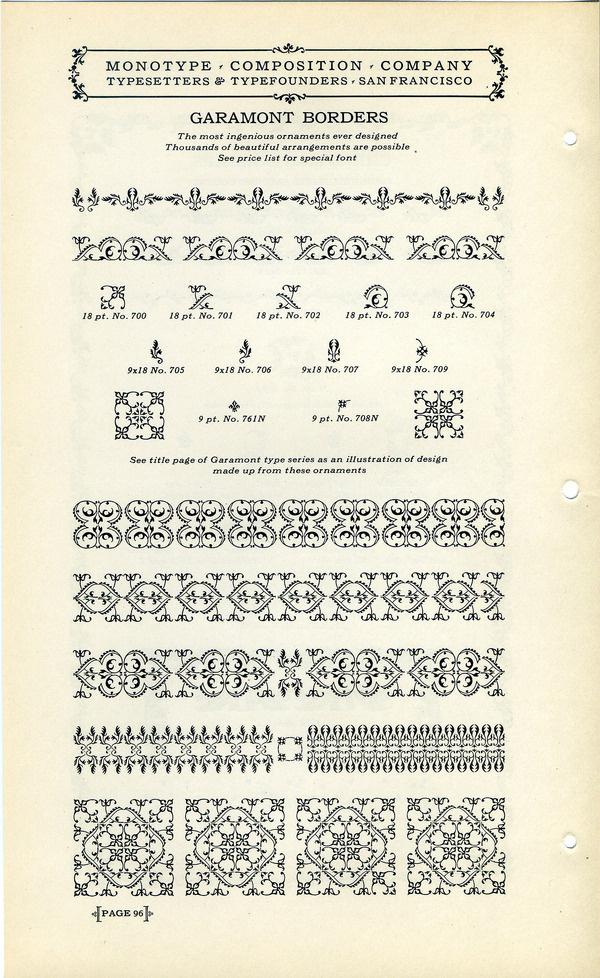 Best Type Specimen Specimens Monotype Garamont images on