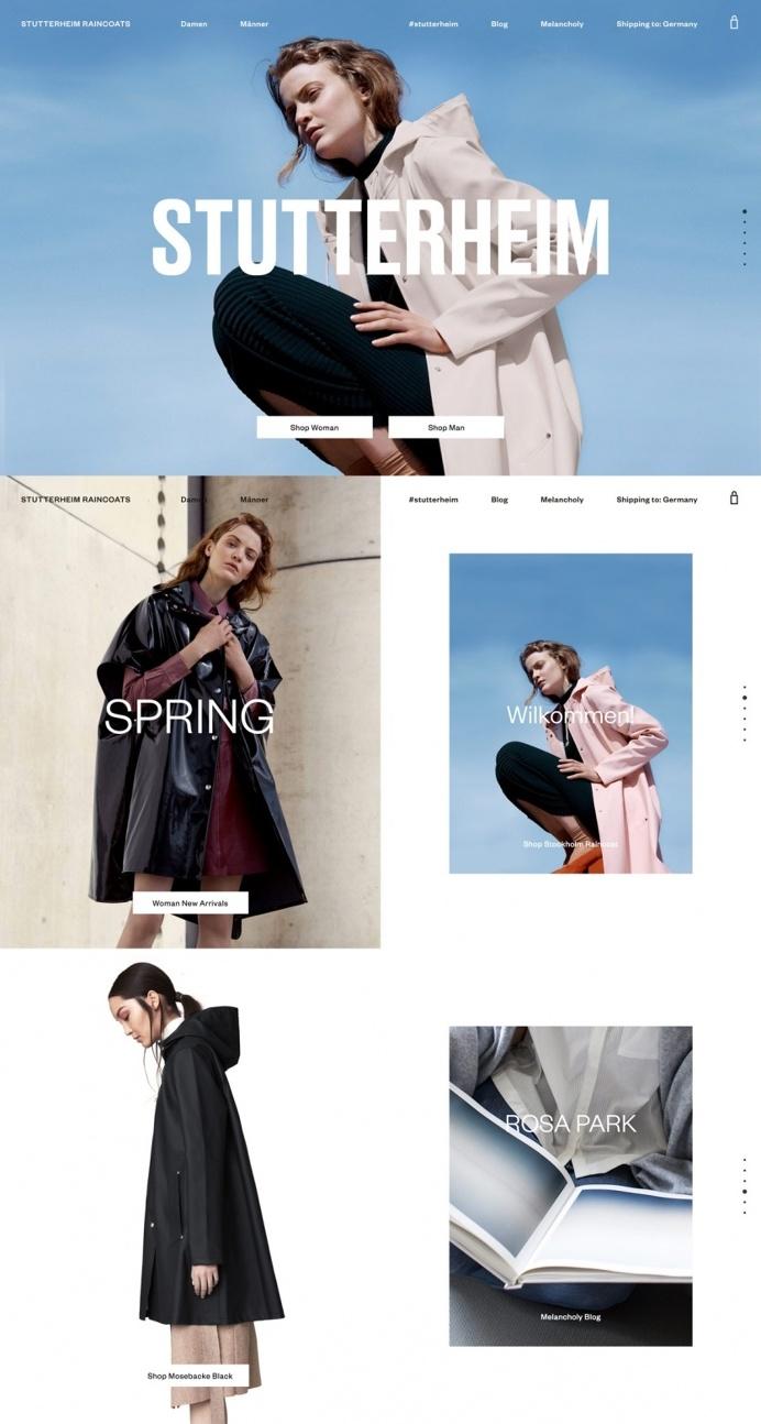 Stutterheim Raincoats - Mindsparkle Mag - Stutterheim is a luxury fashion design brand producing raincoats, awarded as site of the day sotd