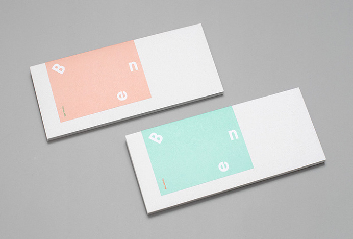 Ben Weeks by Tung #branding #stationery