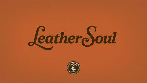 design work life » cataloging inspiration daily #logo #orange #leather #black