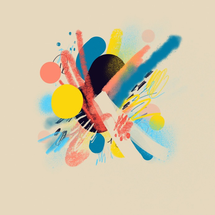 Figurative Abstractions on Behance