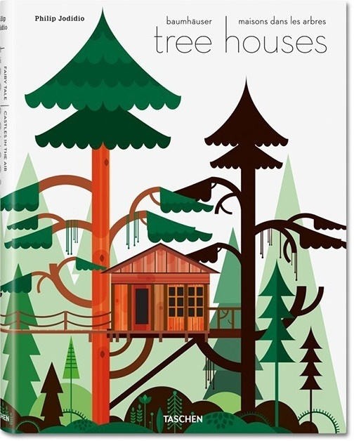 Nice book illustration #cover #illustration #treehouses #book