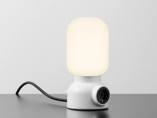 form us with love: plug lamp for ateljé lyktan #lamp #form #plug #lyktan #us #love #with #atelj