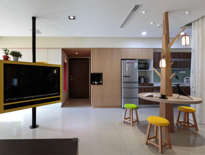 Comfortable Practical and Welcoming Apartment in Taiwan - #decor, #interior, #homedecor, home decor, interior design