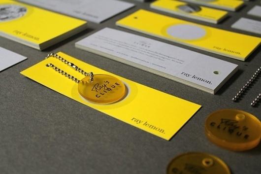 RAY LEMON branding, invitation concept & web design on the Behance Network #branding #design #ray #lemon #web