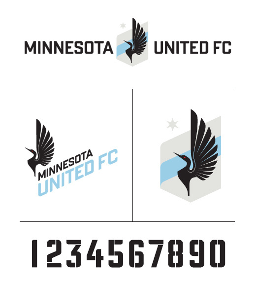 Giving Our Home State's Soccer Team a New Identity #logo #logos #branding #soccer