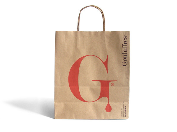 Goulaffres #goulaffres #logotype #run #shop #design #graphic #delicatessen #identitty #restaurant #barcelona