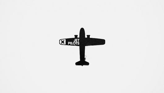 Silence Television - Blog #icon #simple #plane #logo #minimalist
