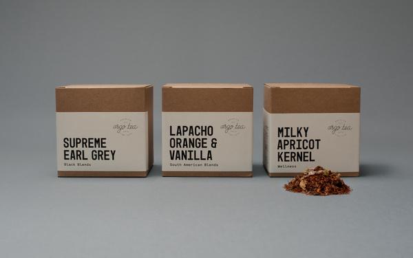 Argo Tea — Tom Clayton / Swear Words #packaging #tea #foil