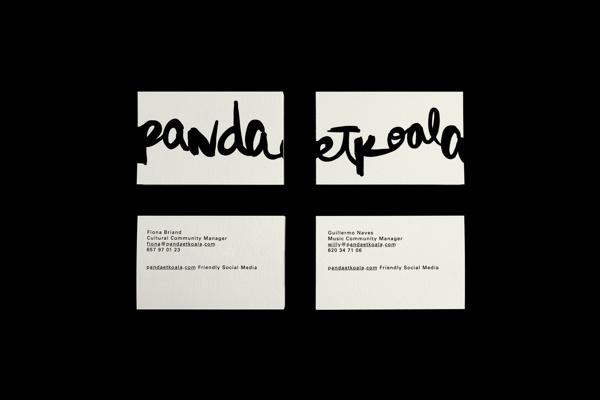 Pandaetkoala on Behance #corporativo #branding #identidad #pandaetkoala #social #business #etxeberria #naranjo #handmade #logo #calligraphy #madrid #miguel #media #cards #naranjoetxeberria #naranjo—etxeberria #diego #spain #direction #art