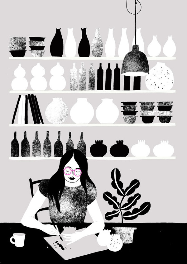 Karolin Schnoor #spots #illustration