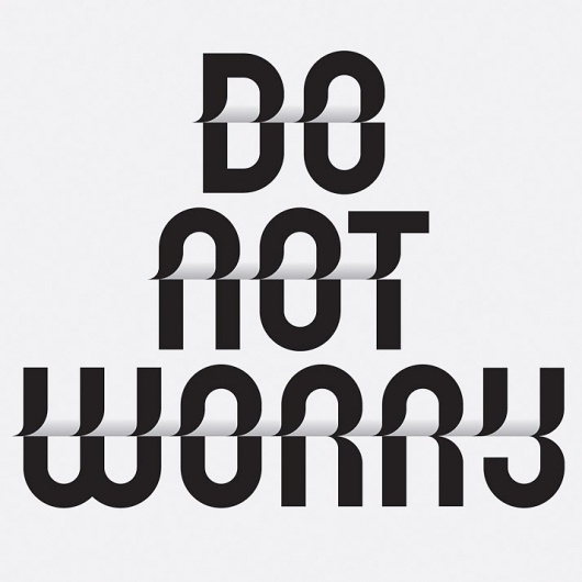 Do not worry - 3 Toko Typeface #design #graphic #typography