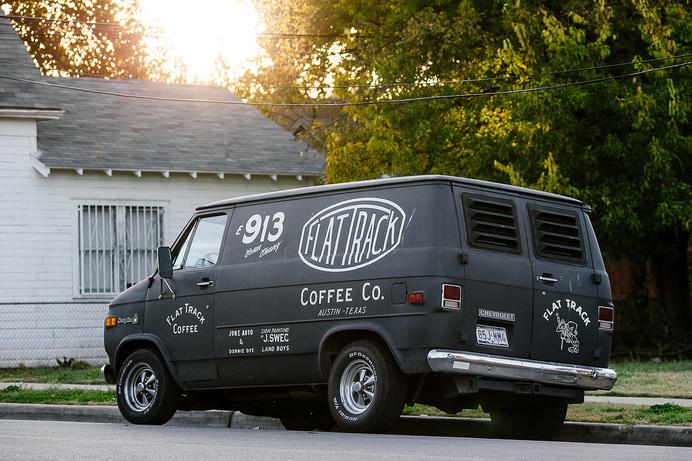Flat Track Coffee Van | Flickr - Photo Sharing! #van
