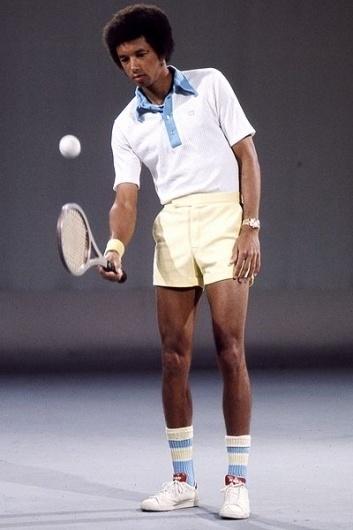 Nerd Boyfriend #tennis #arthur ashe