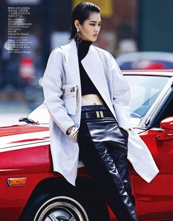 CHIHARU OKUNUGI BY LACHLAN BAILEY FOR VOGUE CHINA #fashion #vogue #china #proenza