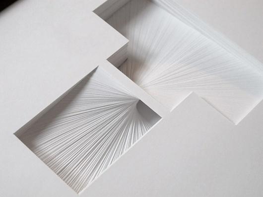 Paper Typography – Typography inspiration on MONOmoda #typography