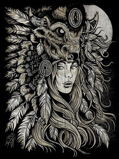 Spirit of the Buffalo Art Print #print #of #the #poster #spirit #buffalo