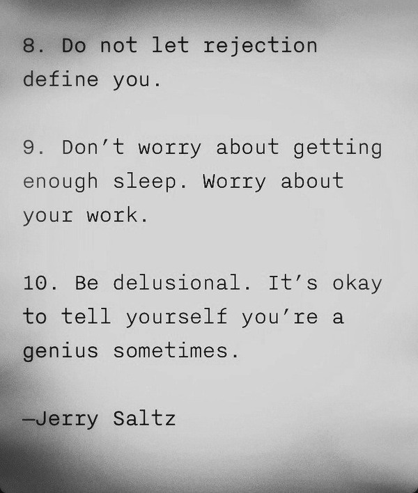 mindfudge:7knotwind:JERRY SALTZ advice for artists (quote found via:toddahh)kinda needed that #wisdom