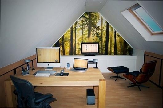 Workspace Design Inspiration | Interior Decoraton | Inter1or.com #interior #modern #design #architecture #minimal #workspace