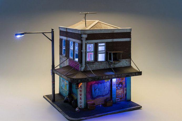 #miniature #diorama #architecture #urban