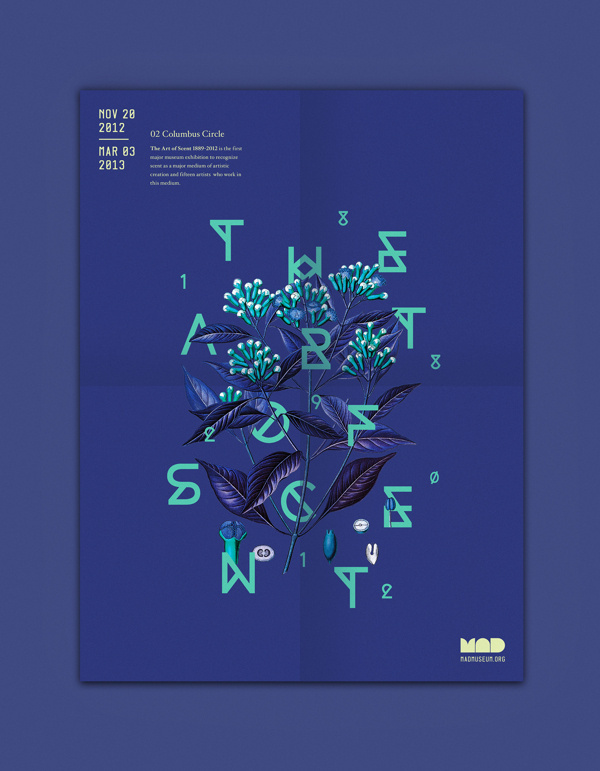 The Art of Scent on Behance #mad #michelle #museum #wang