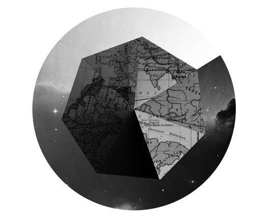Elwoood – Eduardo Fitch | Graphic Design and Illustration #elwood #map #earth #stars #fitch #eduardo