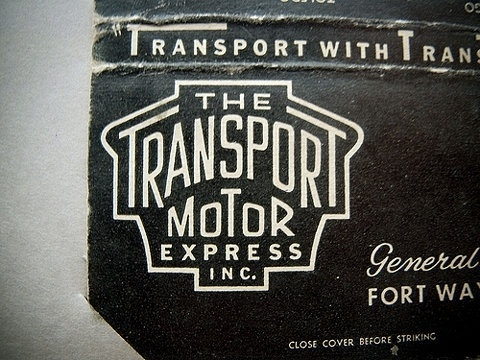 FFFFOUND! | The Transport Motor Express on Flickr - Photo Sharing! #type #vintage