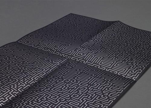 Tumblr #maze #print #design #poster #ambiguous #typography