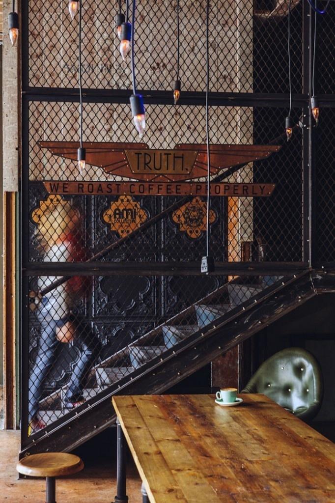 TRUTH. Coffee Roasting – a fantasy world with a steampunk design