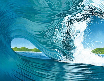 BIG WAVE ILLUSTRATION 2020