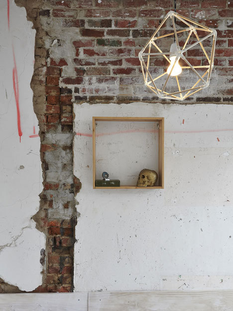The Dolls House by Edwards Moore #brick #lamp #skull