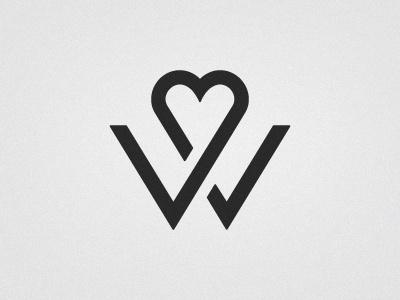 Wedding logo #geometry #monogram #logo #wedding #typography