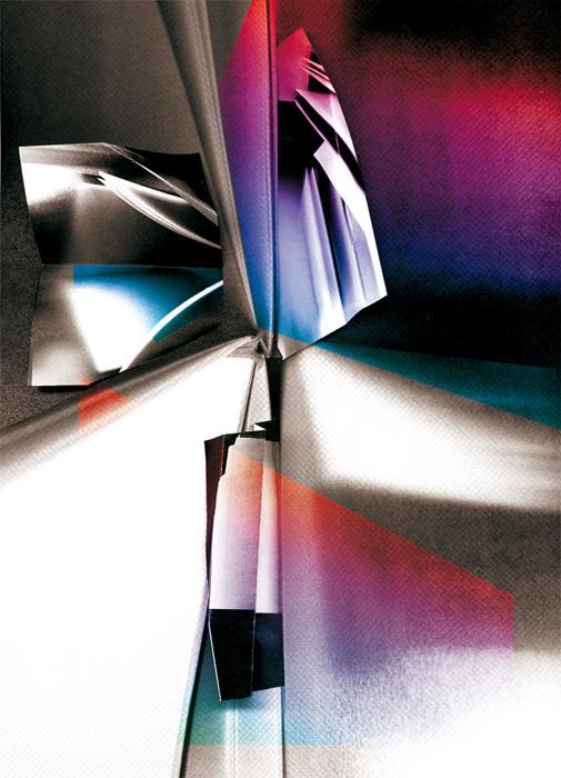 Metamorphosis (RevisionArts)—Laura Knoops | Graphic design #page #process #photo #photocopy #color #book #metamorphosis #exhibition #paper #revisionarts #scan