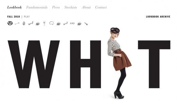 NoFavorite Web design inspiration from siteInspire #website