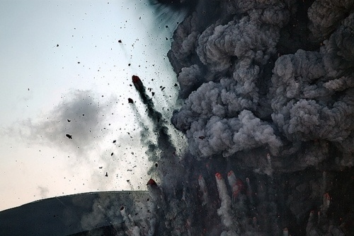 woodflour #photo #explosion #photography #destruction