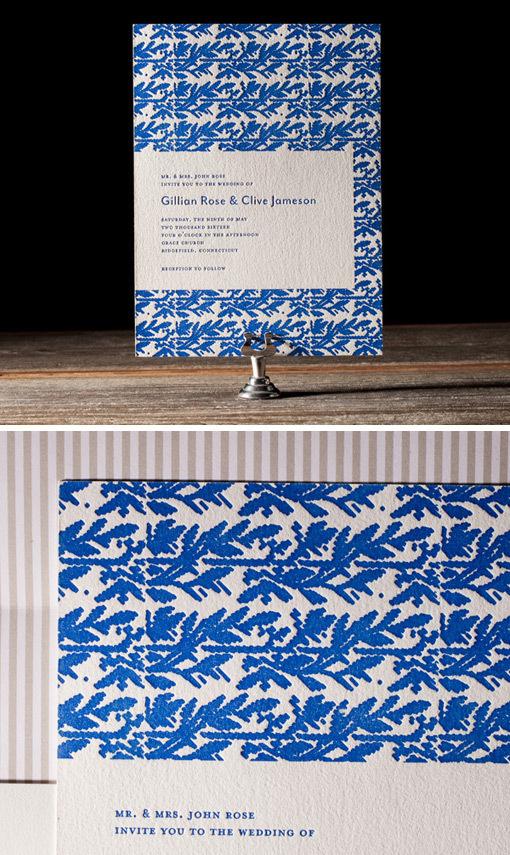 bellafigura_2013invites_01 #wedding #letterpress #invitation
