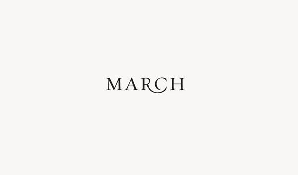 march logo #logo #design