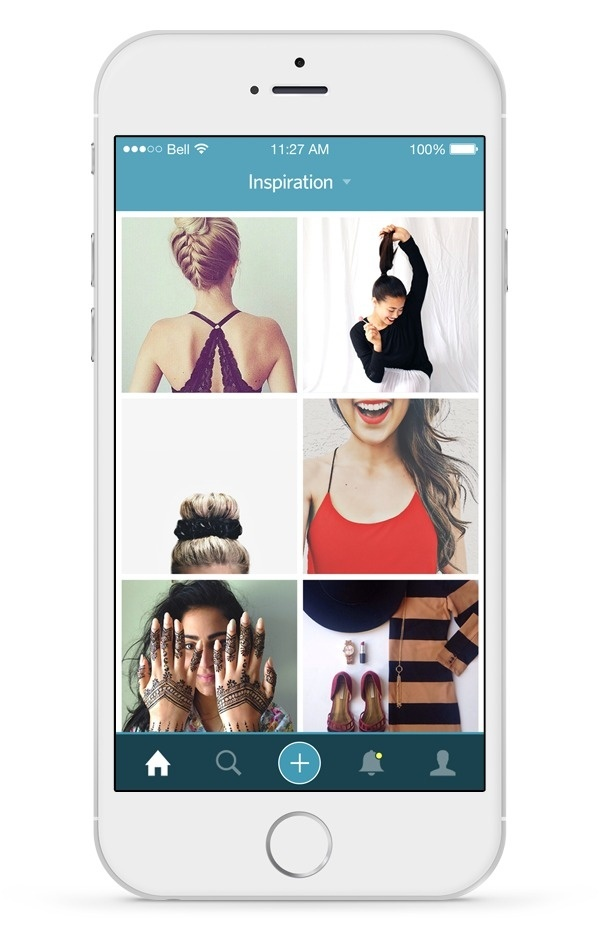 Pout Inspiration Feed #inspiration #8 #6 #icons #ui #feed #iphone #app #mobile #fashion #ios #beauty