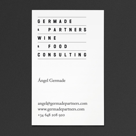 "Ã""scar Germade at iainclaridge.net #card #business"