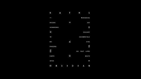 Baths: Obsidian | Advance | Pitchfork #layout