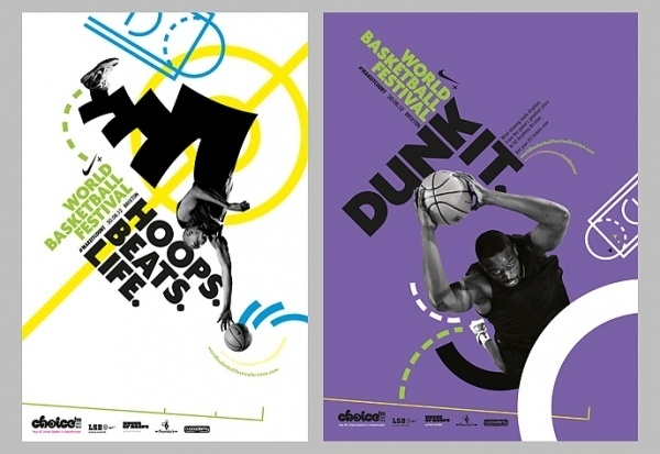 Bless // Work #bless #bball #w+k #design #dunk #nike #posters #graphics #basketball