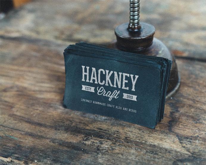 Tom Newton – Hackney Craft #beer #business #packaging #card #design #retro #ale #craft #minimal #vintage #logo #lager