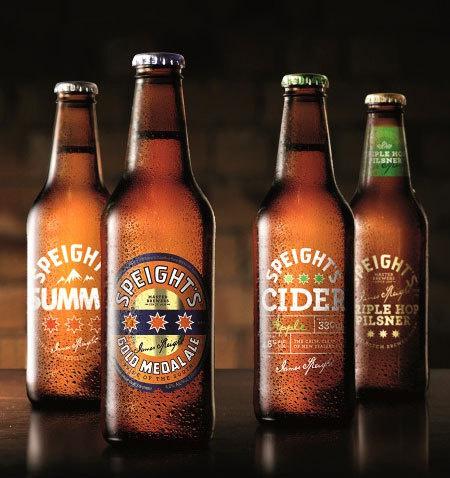 Speight's Brewery #packaging #beer #label #bottle