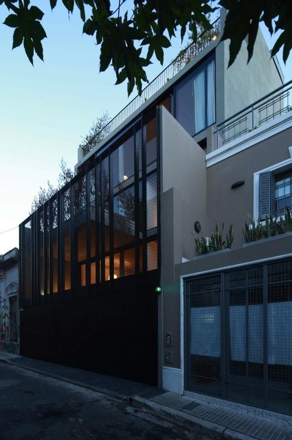 Clustered Dwellings Building by Estudio Rietti Smud #modern #design #minimalism #minimal #leibal #minimalist