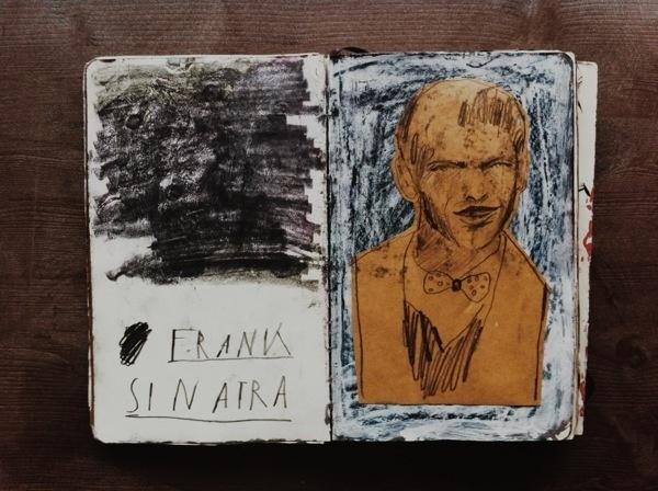 SKETCHBOOK on Behance #sinatra #sketching #sketchbook #illustration #frank #drawing #sketch