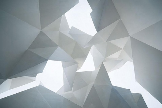 Bloomberg Pavilion Project - today and tomorrow #geometry #white