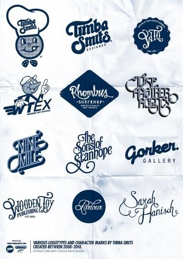 Timbas Type & Logo Dept. #timba #logos #design #smits #type #typography