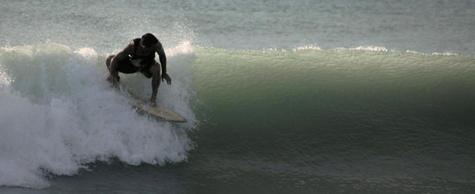 pulling in #surf #wave #sea #blue #green