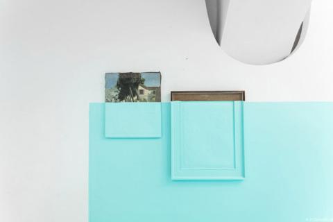 'Antivegetativa' by Davide D'Elia | PICDIT #design #paint #painting #art #blue