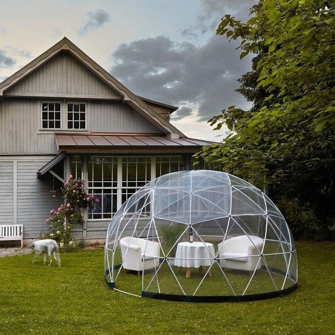Backyard Dome best garden dome backyard geodesic love images on designspiration